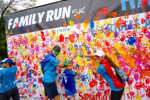 What is a 5K without colored paint?!